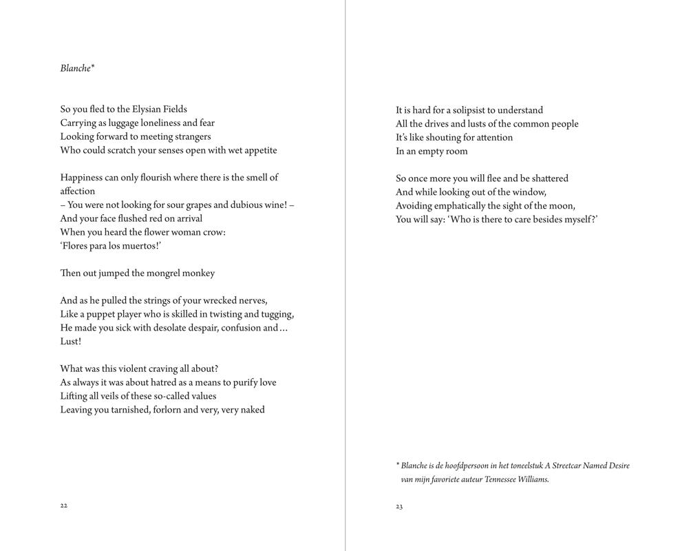 Ton Kurstjens gedichtenbundel binnenwerk