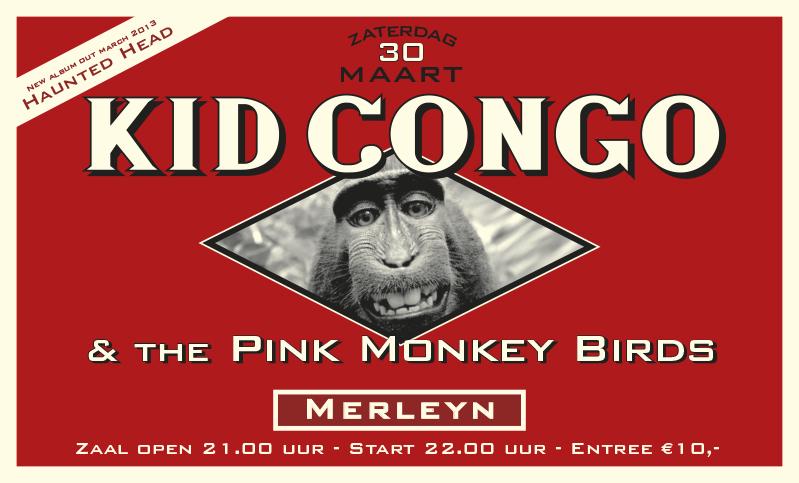 affiche Kid Congo