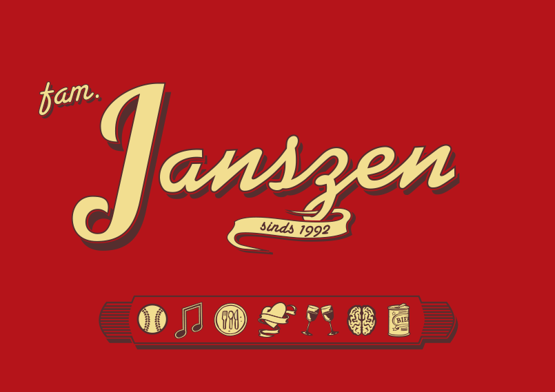 t-shirt familie Janszen