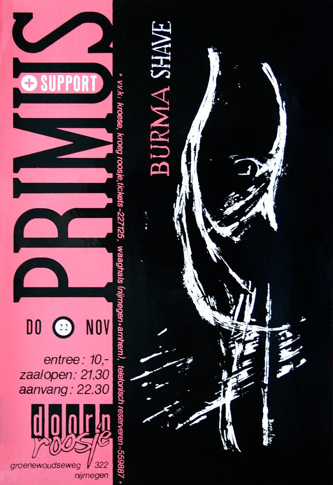 Doornroosje, Nijmegen, affiche Primus 1991