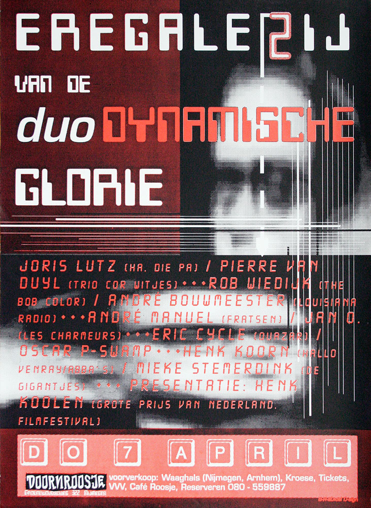Doornroosje affiche Duodynamische Glorie 1994