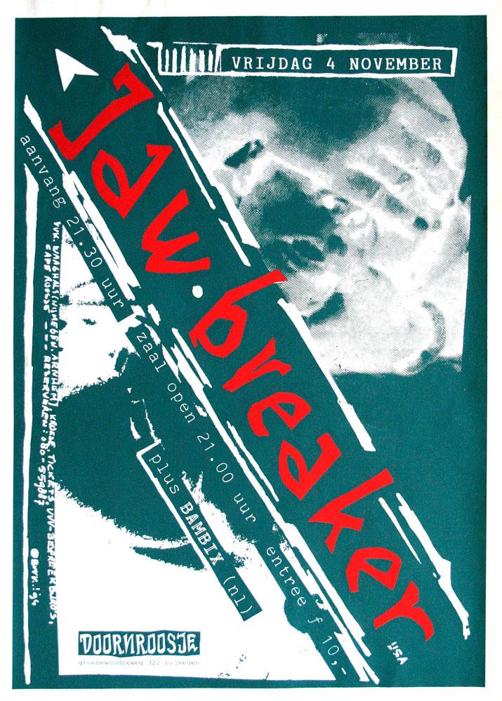 Doornroosje affiche Jawbreaker 1994