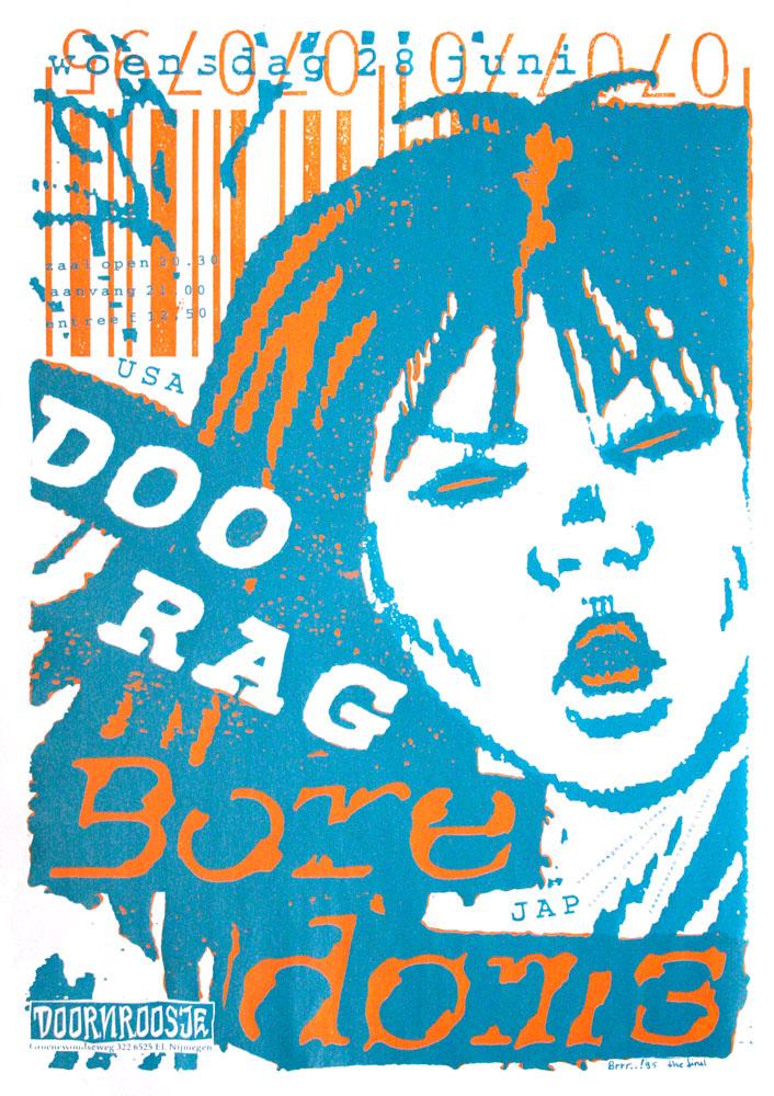 Doornroosje affiche Boredoms 1995