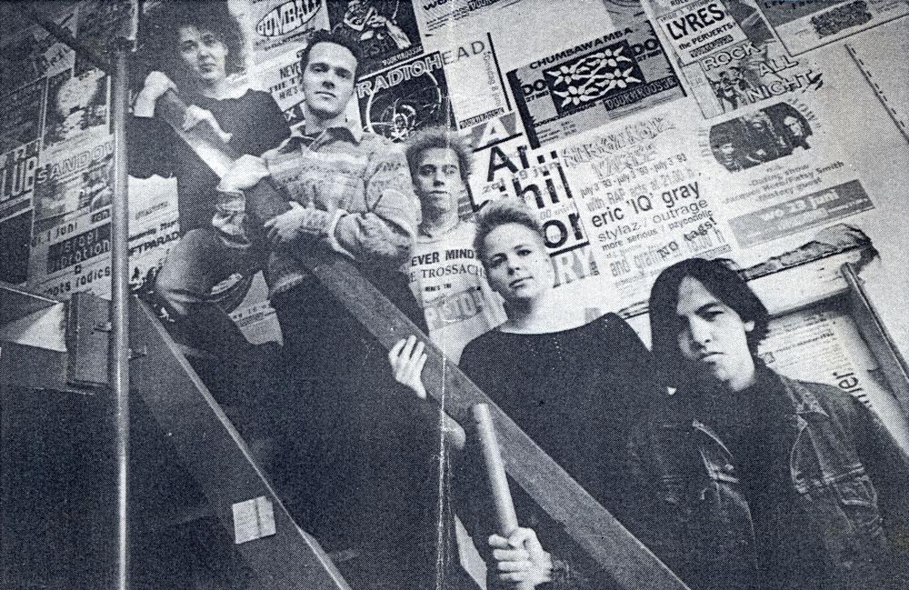 Doornroosje staking drukkerij februari 1992