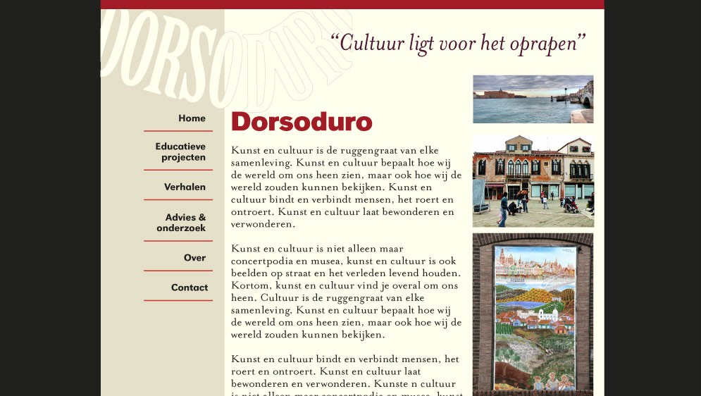 Dorsoduro website