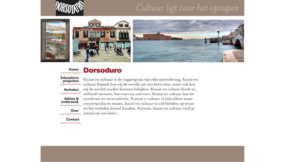 Dorsoduro website