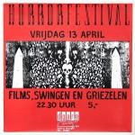 Doornroosje Nijmegen, poster, affiche Horrorfestival, 1990
