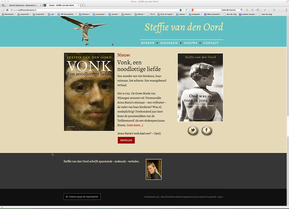 website Steffie van den Oord
