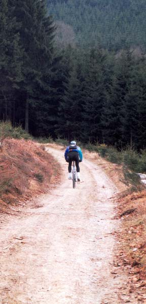 mountainbike Stoumant Ardennen