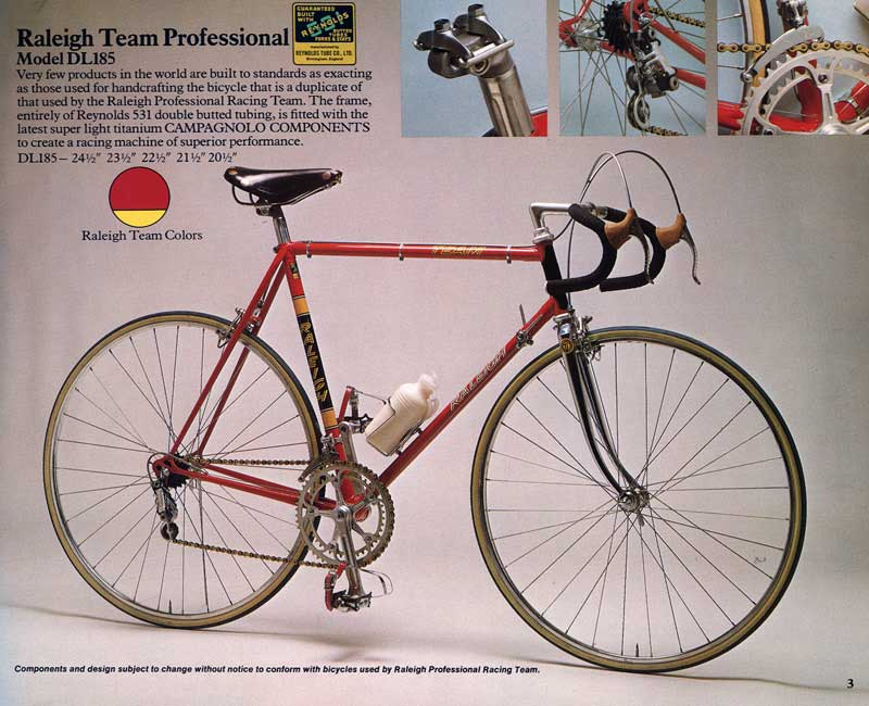 Raleigh Team Pro 1976
