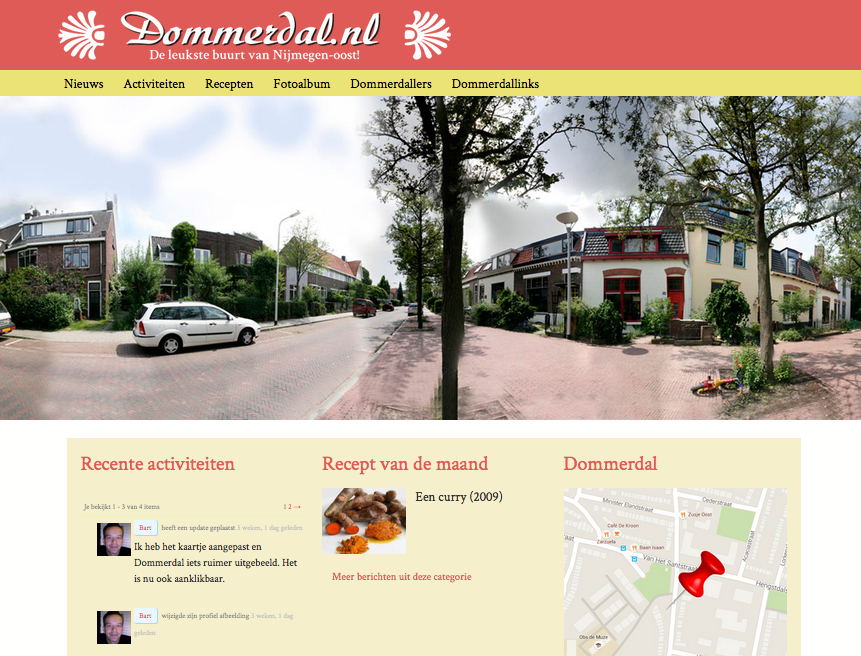 Bartswerk-dommerdal.nl-website