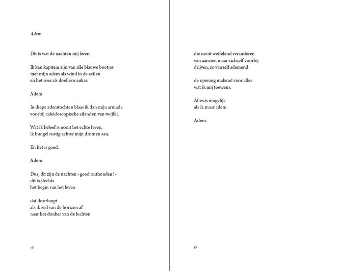 ton kurstjens gedichtenbundel