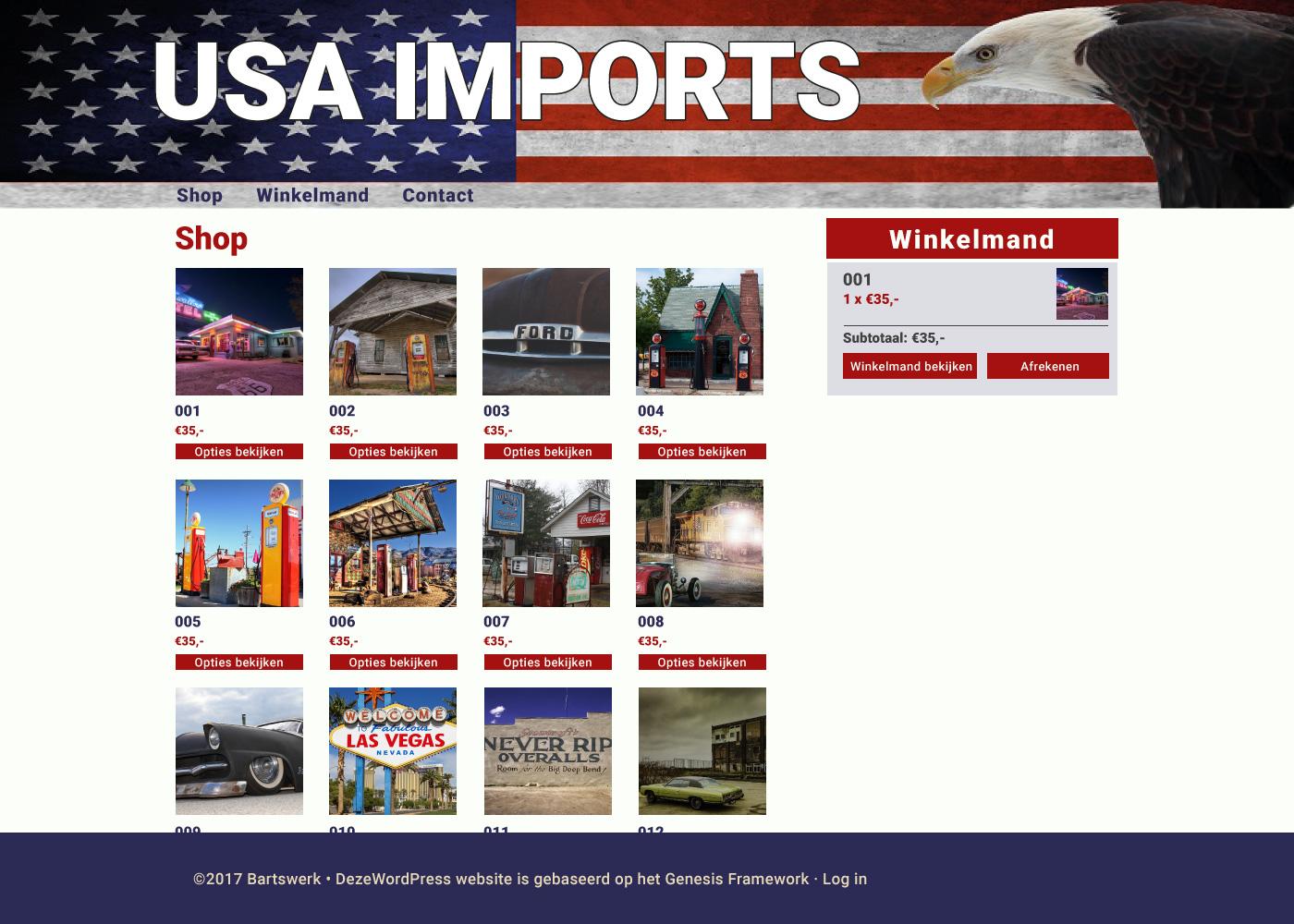 USA-imports website